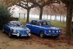 Renault 8 Gordini - Alpine A110