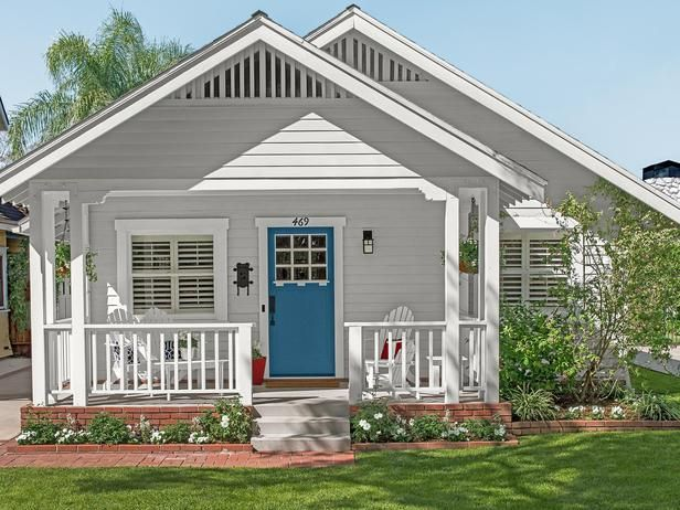 Carrie and Eric Ancker bought their 1911 home a century after it was originally built, but youd never know from its maintained exterior. One of our first projects was swapping the front door, they say. It captures the homes Craftsman style, but the color is a surprising twist.
