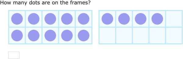 Improve your math skills by practicing free problems in 'Count on ten frames - up to 20' and thousands of other practice lessons.