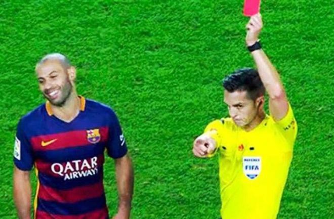 'Safó' #Mascherano: recibió dos fechas de suspensión. No podrá jugar ante el #Getafe y #Villareal, aunque sí llegará al clásico ante el #RealMadrid. http://www.argnoticias.com/deportes/futbol/item/39741-saf%C3%B3-mascherano-recibi%C3%B3-dos-fechas-de-suspensi%C3%B3n