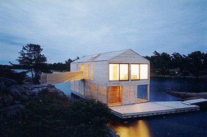MOS Architects: Floating House - Thisispaper Magazine
