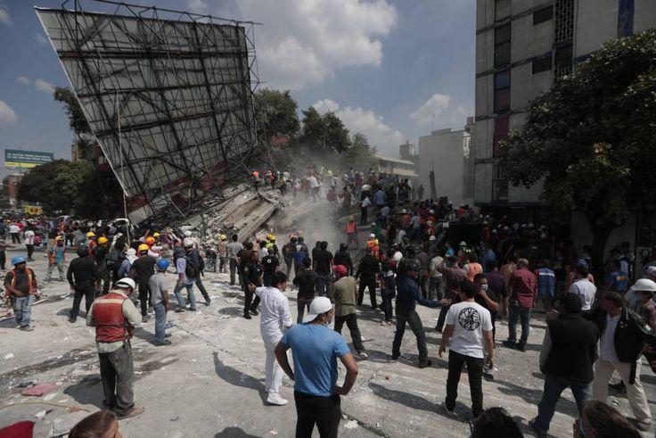 Sismo en México hoy, 19 de septiembre de 2017… Treinta y dos años después del Temblor del 85