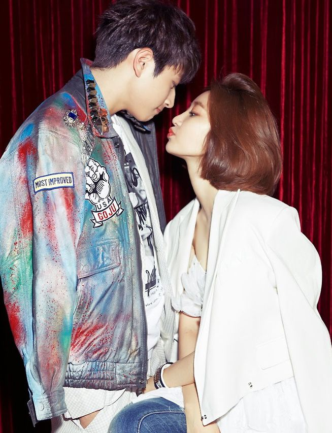 Jin Woon ♡ #2AM and Go Joon Hee - Marie Claire Magazine June Issue '13