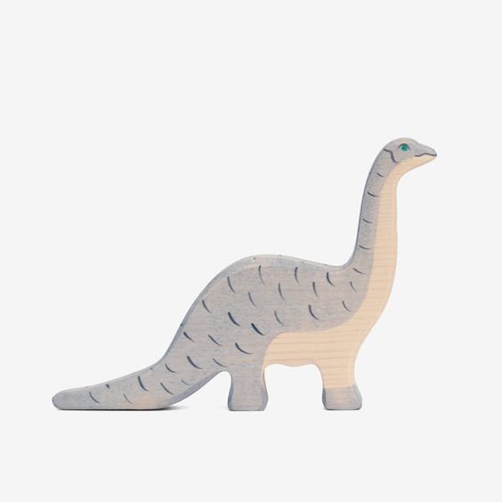 cool wooden toy for kids. Dinosaur Brontosaurus - bitteshop.com