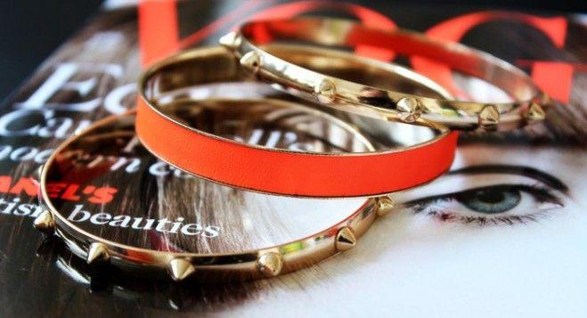 Stylish set of bracelets!