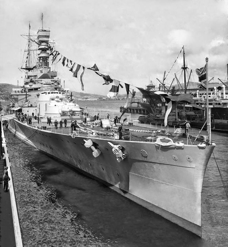 HMS Renown was the lead ship of her class of battlecruisers of the Royal Navy built during the First World War. She was originally laid down as an improved version of the Revenge-class battleships. Her construction was suspended on the outbreak of war on the grounds she would not be ready in a timely manner. Admiral Lord Fisher, upon becoming First Sea Lord, gained approval to restart her construction as a battlecruiser that could be built and enter service quickly. The Director of Naval…