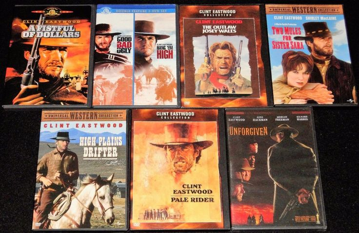 Clint Eastwood Westerns Films