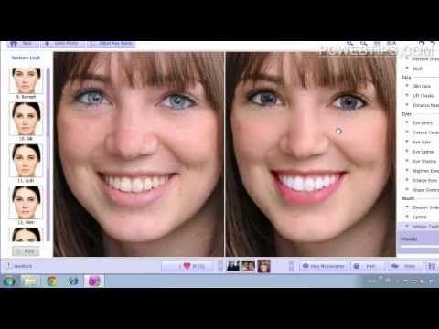 Facil! Programa Para Retocar y Maquillar Fotos (Cara) En Un Clic - YouTube