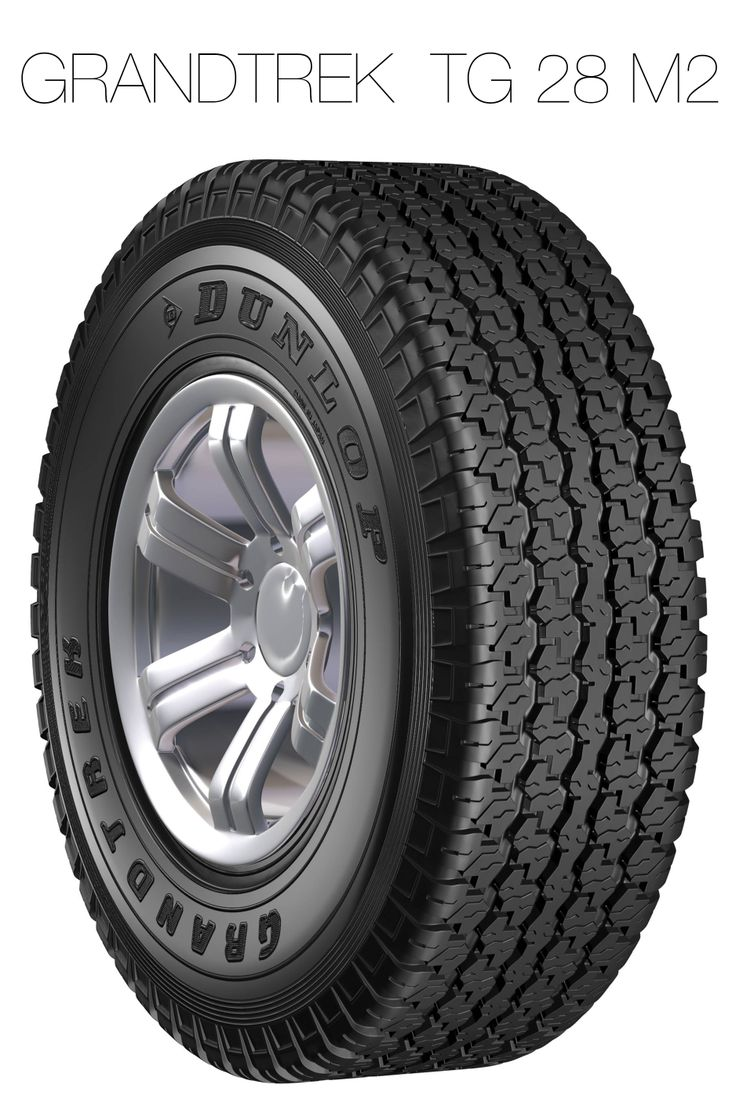 A robust tread pattern for both on- and off- road performance.