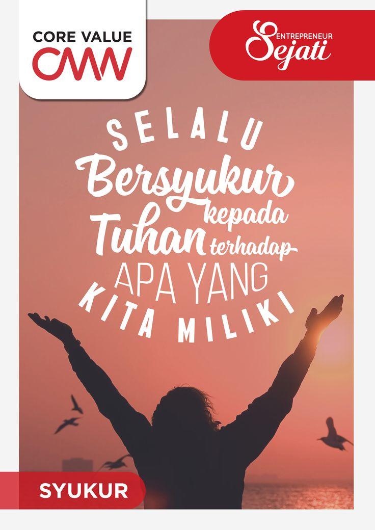 CMN core value typography poster S