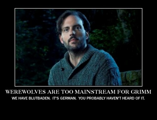 Werewolves are too mainstream