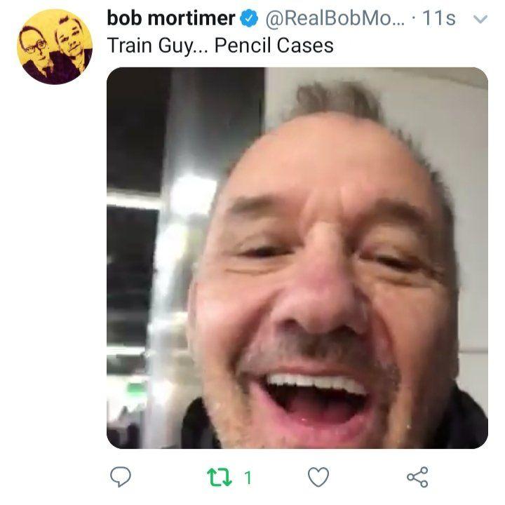 All Of Bob Mortimer S Train Guy Videos So Far New Comedies