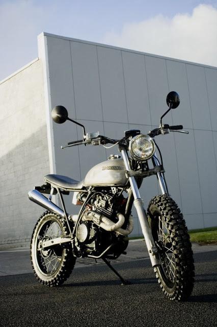 Honda XL350 Street Tracker