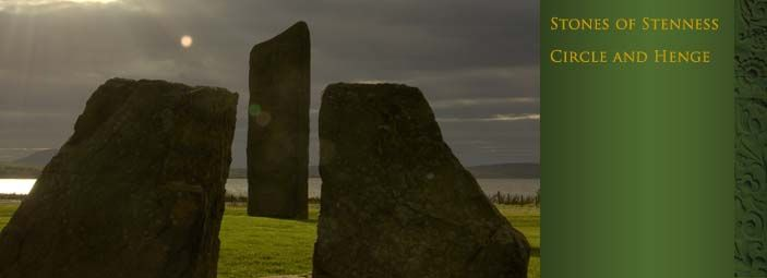 The Stones of Stenness and the Ring of Brodgar are two of Britain's best-preserved prehistoric monuments. They were built between 5,400 and 4,500 years ago. Their function is still a matter of conjecture...