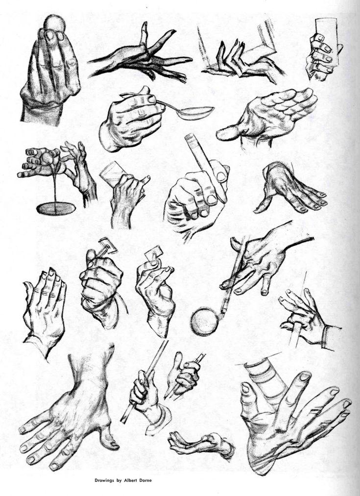 Cómo Dibujar Los Gestos Y Las Expresiones De Las Manos