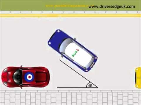Parallel Parking - Practial driving test tips - DriversEdgeUK.com - YouTube
