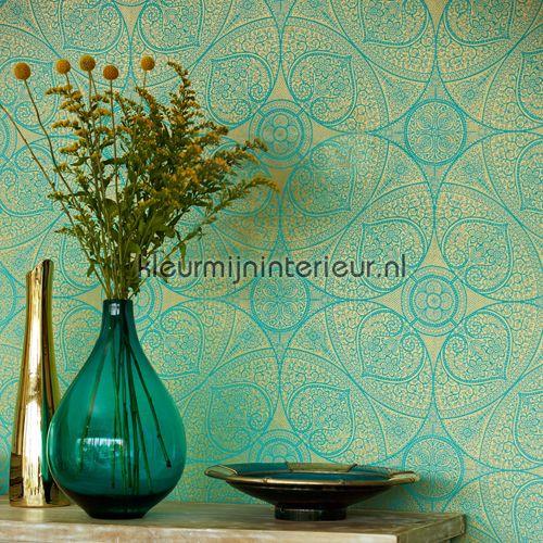 Indian pattern behang 341752 Exotisch Eijffinger
