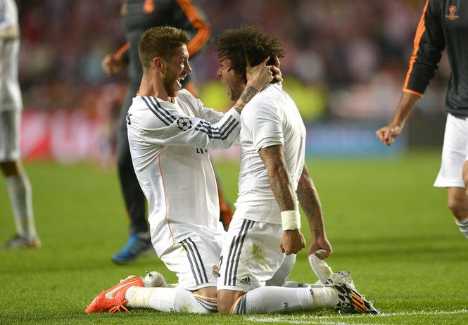 Ramos and Marcelo <3