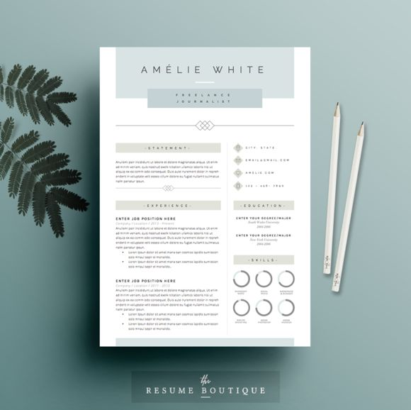 41 best Design Templates images on Pinterest Cards, Colours and - colorful resume templates
