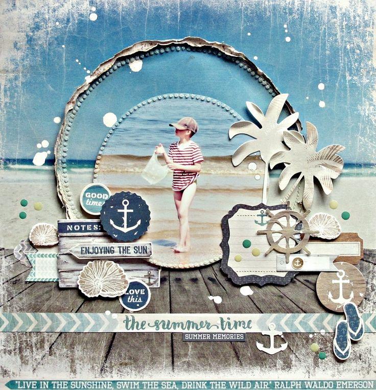 Kaisercraft - Sandy Toes - Anna Zaprzelska