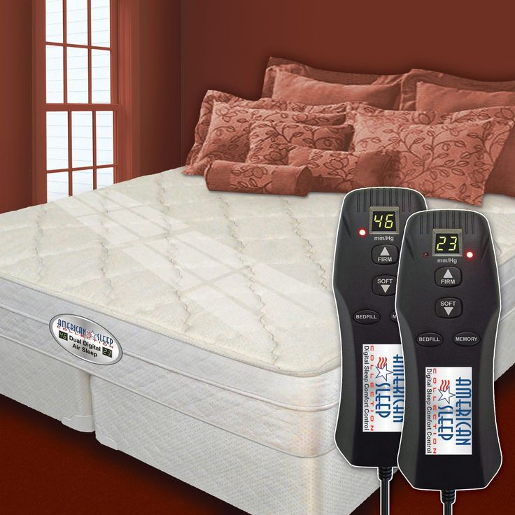 Dual Digital Princeton Eurostyle Air Bed Beds Sleep And