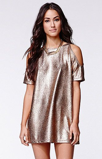 Foil Savannah Dress