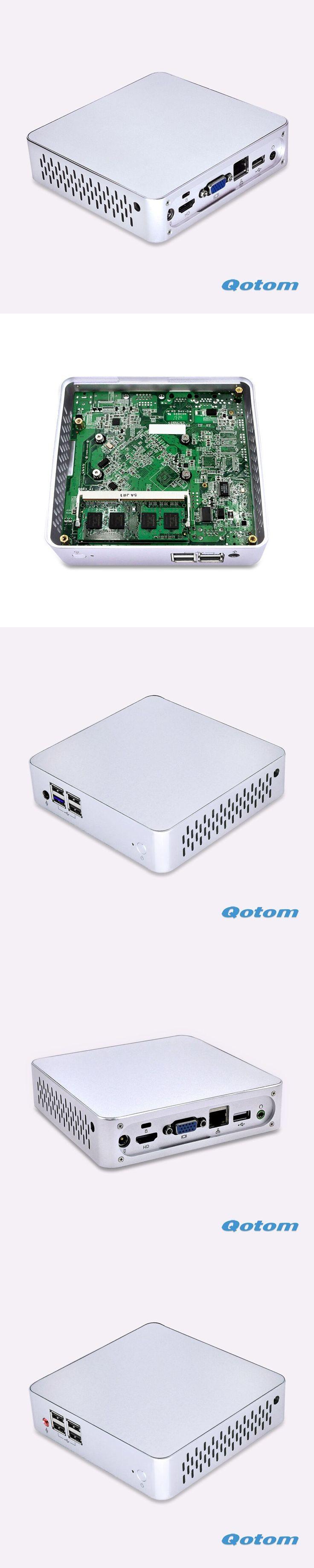 DHL Free shipping Celeron C1037U Ubuntu micro computer ITX dual core 1.8G Dual display Win 10