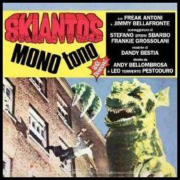 MONOtono è un album degli Skiantos. Il disco è originariamente uscito nel 1978 su etichetta Cramps Records ed è rimasto fuori stampa per diversi anni. È stato successivamente ristampato la prima volta nel 1988 su etichetta Bollicine/Orizzonte e successivamente nel 2003 su etichetta Latlantide su CD in versione Digipack con l'aggiunta del singolo del 1978 Karabigniere blues, alcuni provini inediti sempre del 1978 e una traccia inedita multimediale denominata Rikordidistorti.