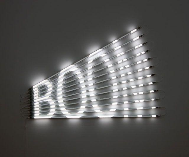 James Clar / BOOM #art #installation #light