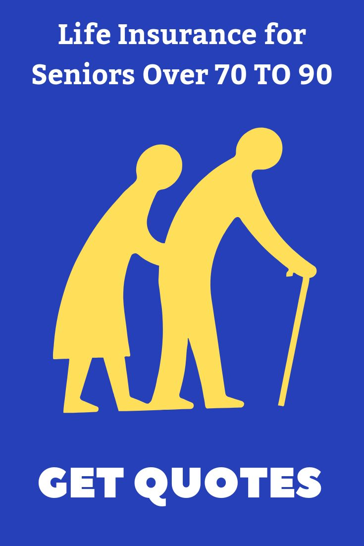 Life Insurance for Seniors Over 70, 80, 90 - Affordable ...