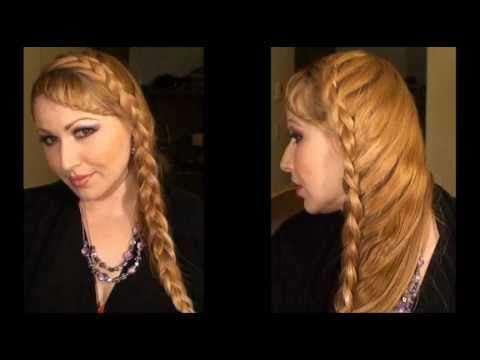 1000 ideas about peinados trenzas de lado on pinterest - Trenzas de lado ...