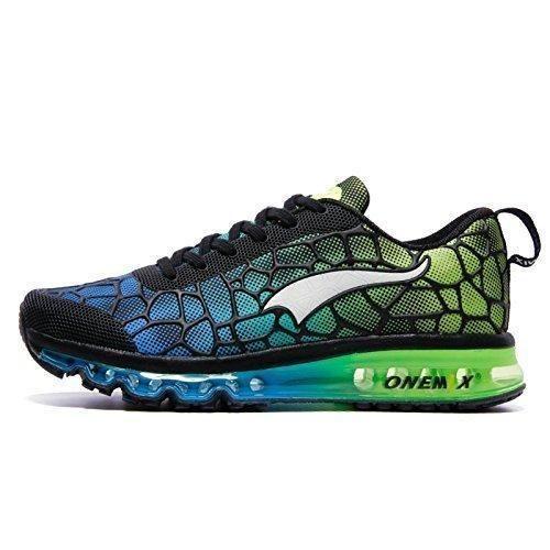 Oferta: 88€ Dto: -24%. Comprar Ofertas de ONEMIX Air Zapatillas de Running para Hombre Zapatos para Correr y Asfalto Aire Libre y Deportes Calzado Azul cielo / Verde T barato. ¡Mira las ofertas!