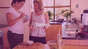 Bloopers from the making of Delicious Wellbeing. Find out more about the program here http://deliciouswellbeing.com