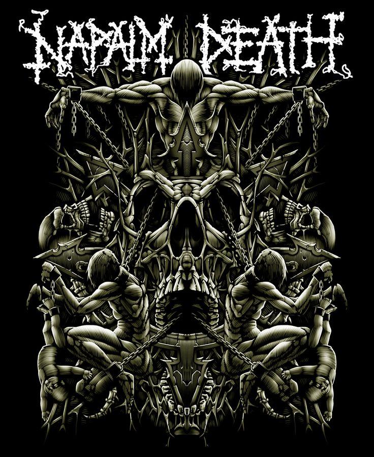 Napalm Death by Adrian Balderrama