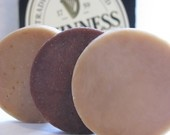 Beer Soap - 3 Sample Sizes - Made with Guinness - Gifts for Men. $6.99, via Etsy.