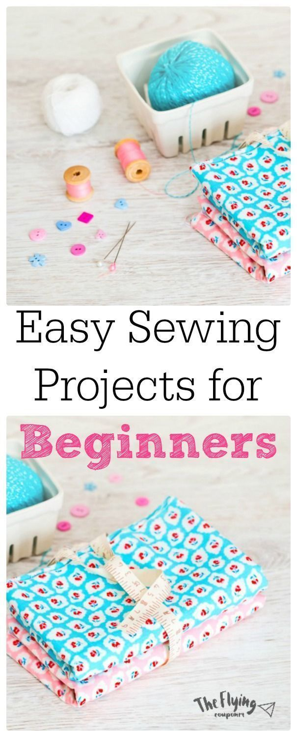Easy Sewing Projects For Beginners Diy Craft Ideas The Flying