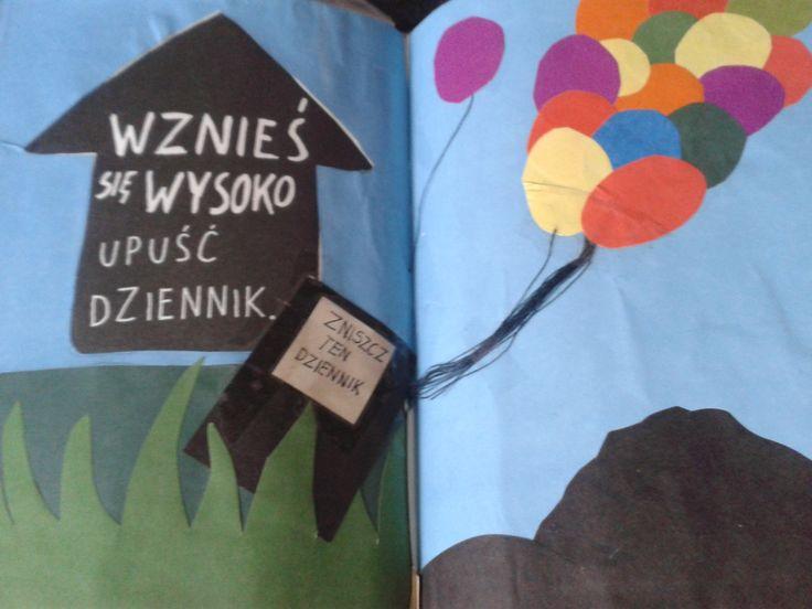 Podesłała Aleksandra Toporowicz #zniszcztendziennikwszedzie #zniszcztendziennik #kerismith #wreckthisjournal #book #ksiazka #KreatywnaDestrukcja #DIY