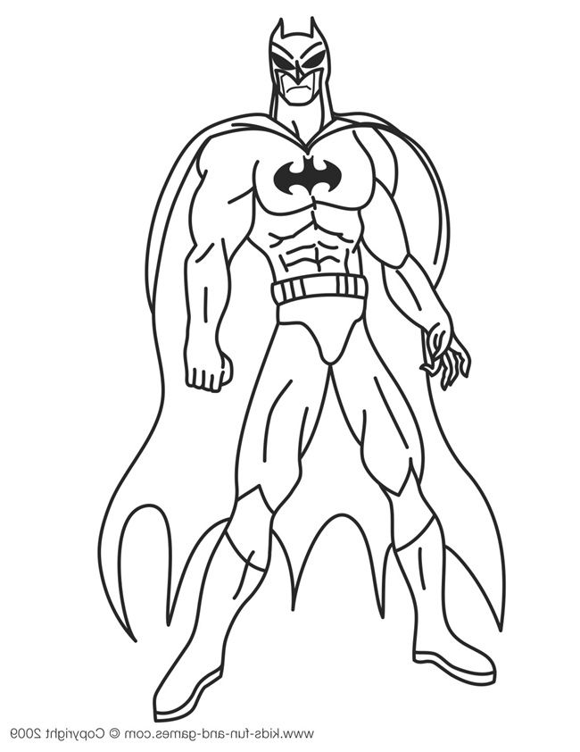 Coloriage A Dessiner Lego Batman 2 A Imprimer Superhero Coloring