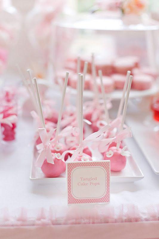 Tangled enchanted garden party | Kara's Party IdeasKara's Party Ideas: Kara Party, Partyidea, Enchanted Gardens, Birthday Parties, Cake Pop, Gardens Birthday Party, Party Idea, Birthday Princesses, Pink Cakes Pop
