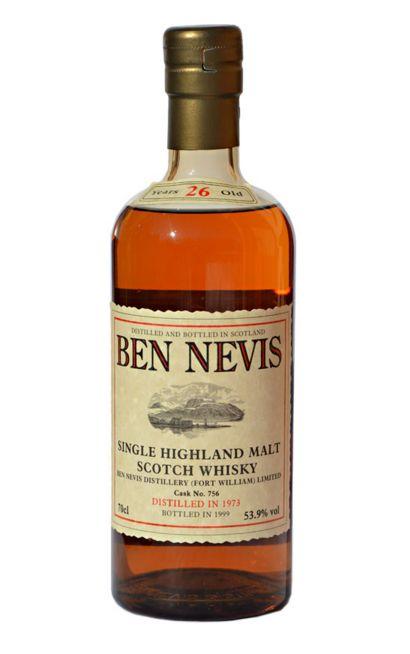 The Whisky Viking: Ben Nevis 26 yo (1973/1999), Cask 756, 53,9 %
