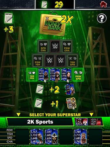 WWE SuperCard introduit Money in the Bank (mode persistant) - 2K a le plaisir d'annoncer la nouvelle mise à jour de WWE SuperCard, le jeu de cartes de combat à collectionner. En parallèle de la diffusion de WWE Money in the Bank via WWE Network le dimanche...