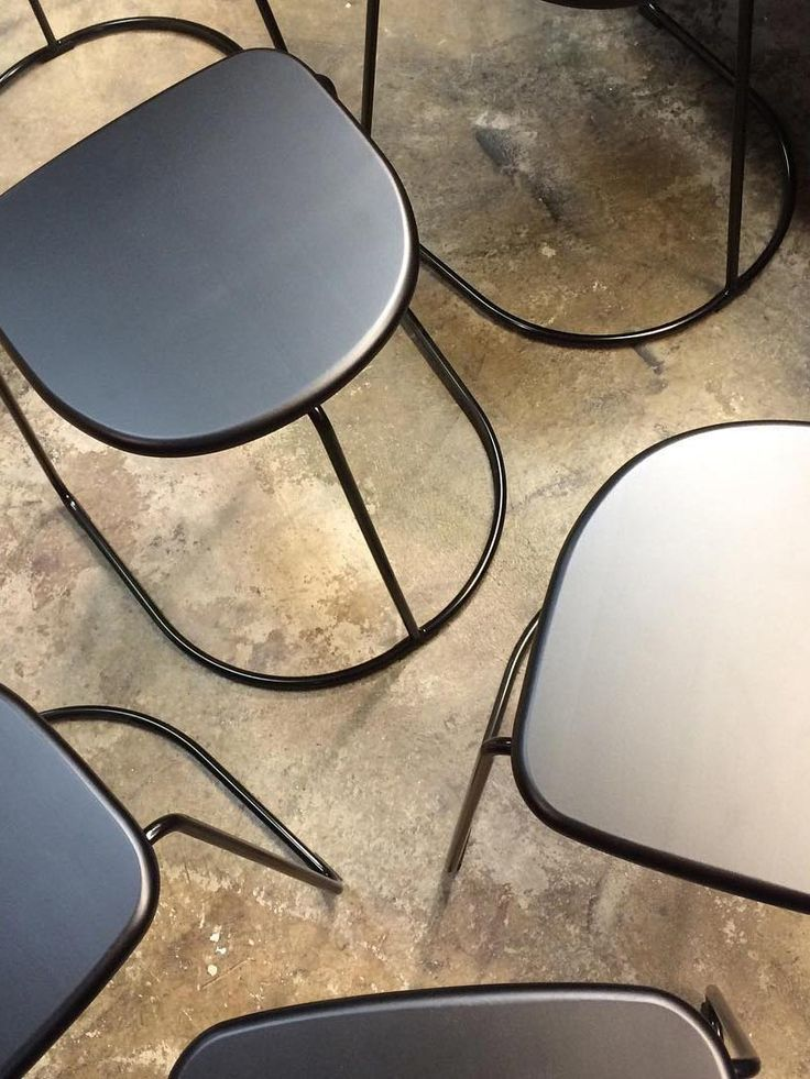 Citizen Ghost stackable steel stool