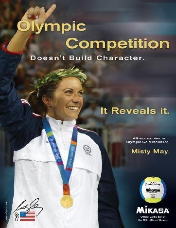 Misty May, beach volleyball, Olympics