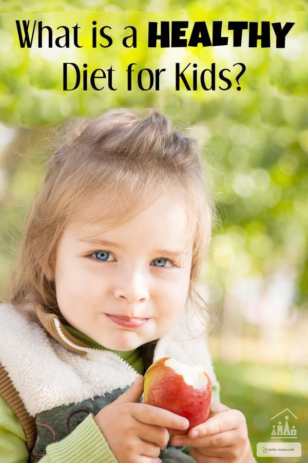 What is a healthy diet for kids? How much fruits, grains, protein, dairy, vegetables and treats should your child eat each day? Plus why junk food should only be an occasional treat.