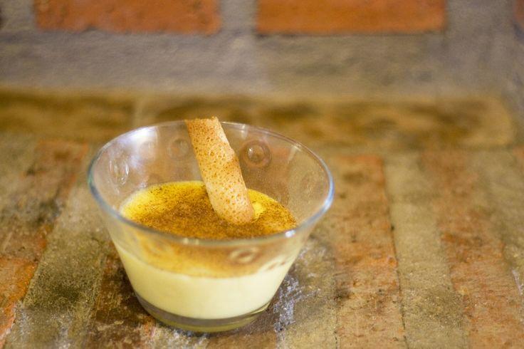 Natillas de vainilla con canela www.restauranteespadana.es