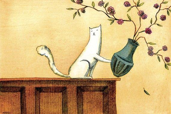 No Vase Is Safe by PainterNik