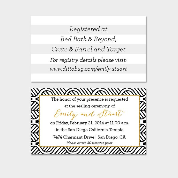 17 Best images about Insert Cards – Wedding Invitation Insert Cards