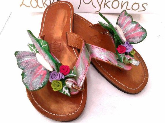nature greek leather sandals with amazing by boutiqueofsandals