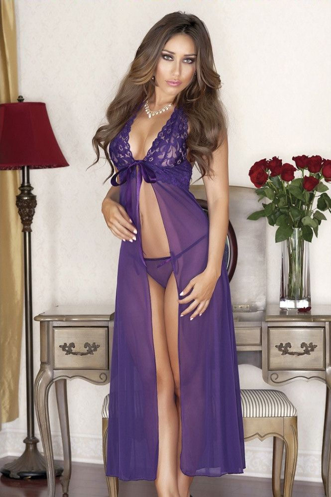 Sexy gown lingerie — pic 9