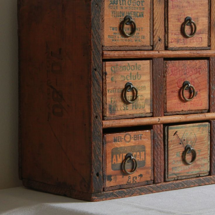 25+ best ideas about Old wooden boxes on Pinterest   Antique ...
